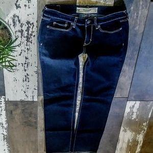 Abercrombie & Fitch Size 00/24X33 Skinny NWOT